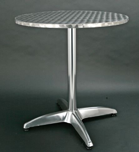 /Aluminum round table
