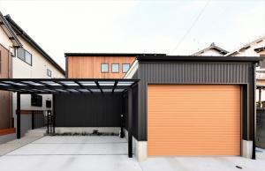 −ビルトインガレージのある二世帯の家−<br /> 施工例 新規登録しました